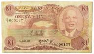 3.Malawi, 1 Kwacha 1986, P.19.a, St.3