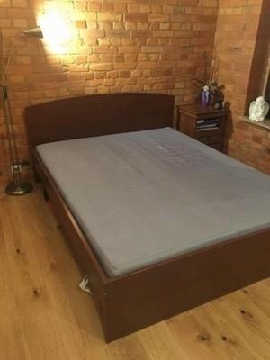 łóżko Stelaż Z Ramą 200x220 Bez Materaca 6853262115