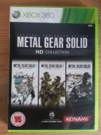 METAL GEAR SOLID HD COLLECTION XBOX 360 PROMOCJA