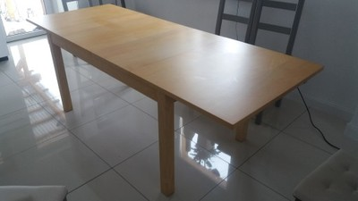 Ikea Bjursta Stół Rozkładany 140180220 6701404054 Oficjalne