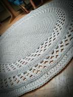 Dywan sznurek bawełniany 160cm hand made