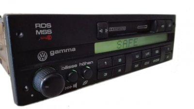 radio gamma 3 do vw 6415492765 oficjalne archiwum allegro. Black Bedroom Furniture Sets. Home Design Ideas