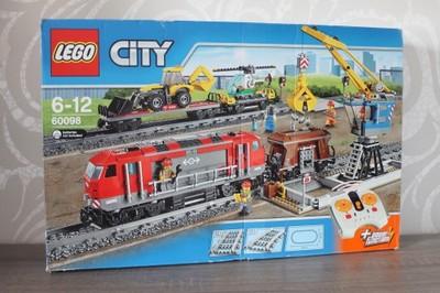 Lego City 60098 Duży Sterowany Pociąg Towarowy 6823896321