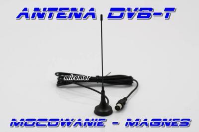 SAMOCHODOWA ANTENA TV DVB-T MPEG-4 MAGNES firmowa