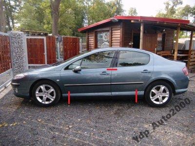Peugeot 407 Sedan Prog Ze Slupkiem Lewy Cwiartka 6443255275 Oficjalne Archiwum Allegro