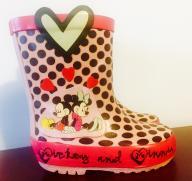 Przesłodkie KALOSZE Mickey&Minnie Disney 20 r.