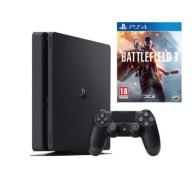 KONSOLA SONY PS4 1TB SLIM + PAD + BATTLEFIELD 1