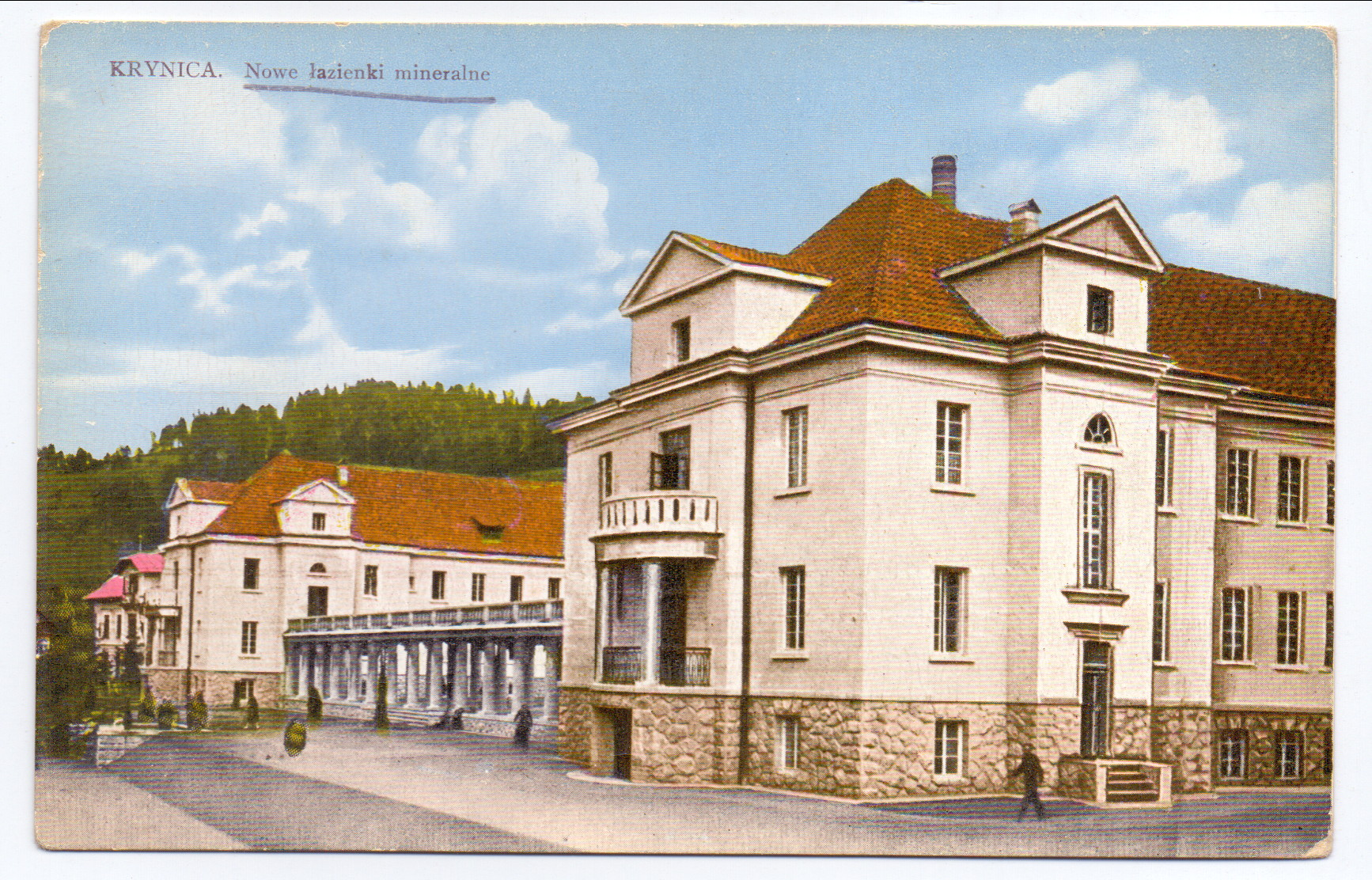 Krynica Nowe łazienki Mineralne 1927 R