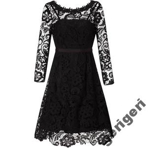 97aac58fe7 sukienka wieczorowa 44 uk16 MONSOON CZARNA KORONKA - 5949603438 ...