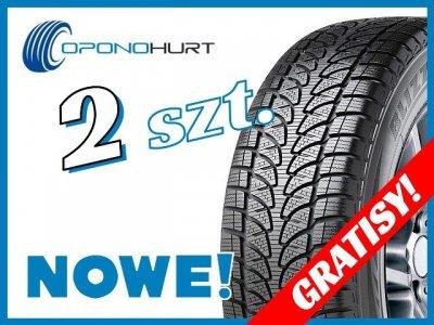2x Bridgestone Blizzak LM80 EVO 265/60R18 110H