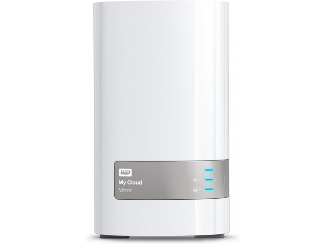 NAS WD My Cloud Mirror, RAID, 4TB, 10/100/1000 Mb/