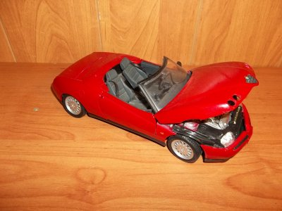 Maisto Alfa Romeo Spider 6482785167 Oficjalne Archiwum Allegro