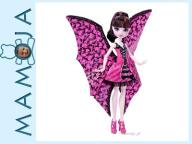 MONSTER HIGH DRACULAURA WAMPISKRZYDŁA 2w1 DNX65