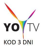 YOY TV TELEWIZJA 3 DNI KOD TV EXPRESOWO ONLINEGG