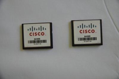 Karta Compact Flash CF 64MB CISCO Router