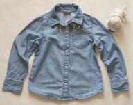 Koszula Jeans Taliowana Kamyczki - NEXT'14 -5-6