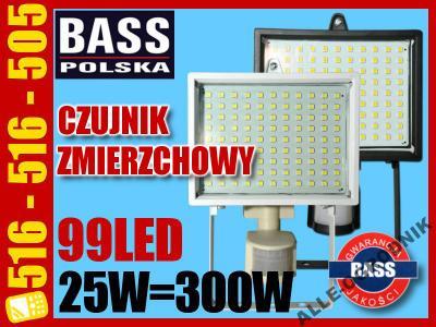 HALOGEN LAMPA LED 25W=300W Z CZUJNIKIEM RUCHU 3934