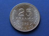 Komory 25 franków 1982  Fao