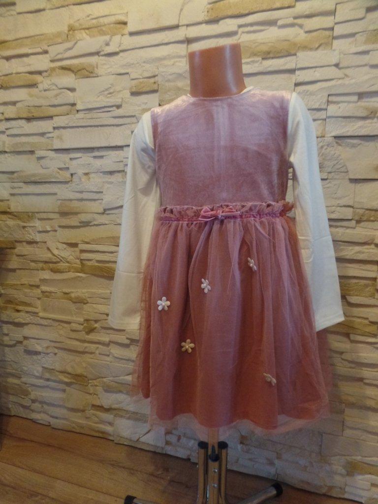 93f9739d50 Sukienka Komplet rozmiar 98 - 104 - 7056408915 - oficjalne archiwum ...