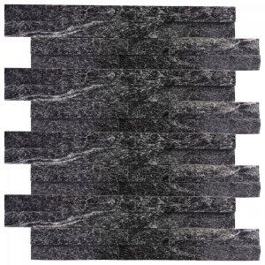 Kamień Naturalny Płytki Dekoracyjne Kwarcyt Czarne
