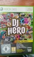 XBOX360 DJ HERO ,db,pudełko,wysyłka w 24h