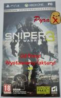 Zestaw przedsprzedażowy Sniper Ghost Warrior 3