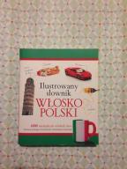 Ilustrowany słownik włosko- polski wyd. Olesiejuk
