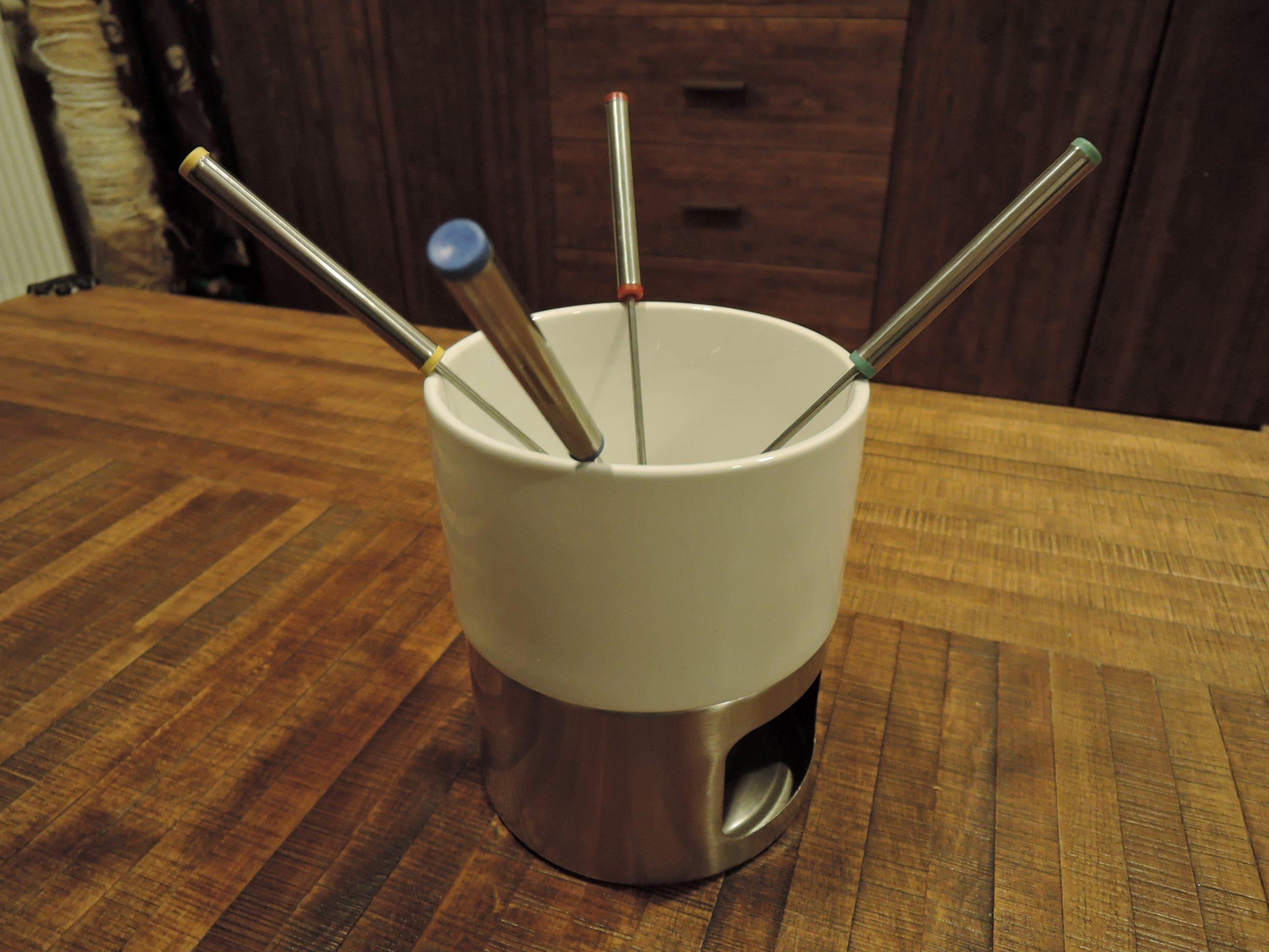 Zestaw do fondue - 4-ro osobowy
