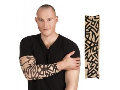 Rekaw Z Tatuazem Tribal Fake Tatoo Sztuczny Tatua 6986617437 Oficjalne Archiwum Allegro