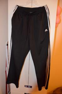 ADIDAS spodnie dresowe męskie L / czarne 100% oryg