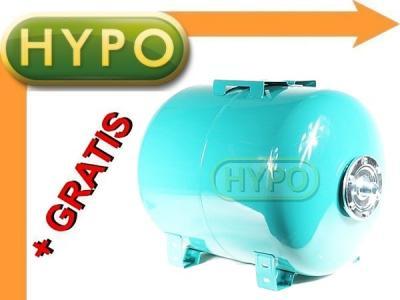 ZBIORNIK PRZEPONOWY poziomy 100L hydrofor +GRATIS