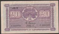Finlandia - 20 markkaa - 1939 rok