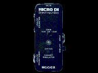 MOOER MDI-1 Micro DI Direct Input Box