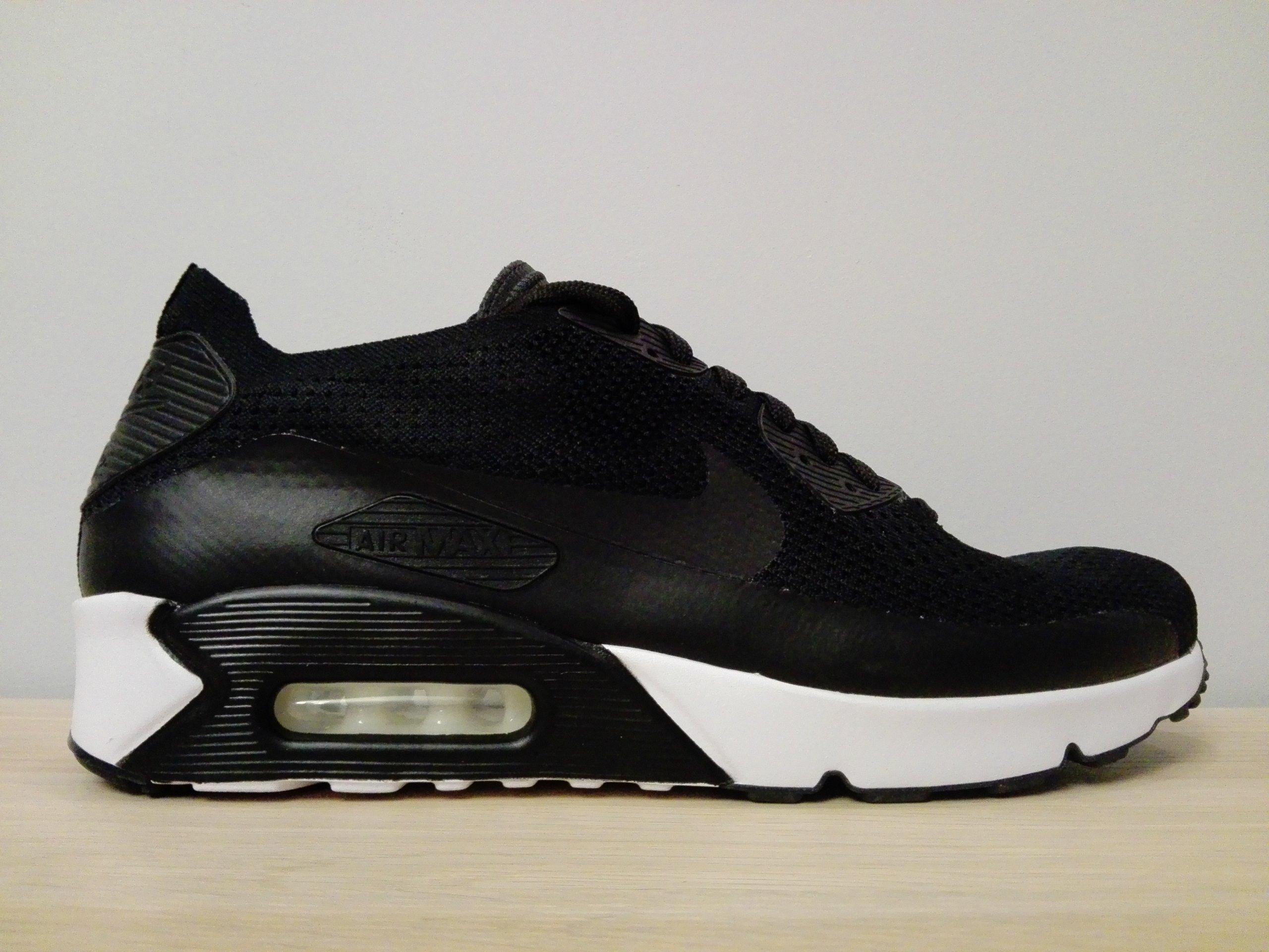 Oficjalne Buty Nike Air Max 90 Męskie Czarne Fabryka Outlet