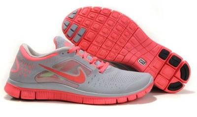 check out 96489 d3750 Nike Free Run + 3 5.0 szare róż r38 wysyłka z PL!