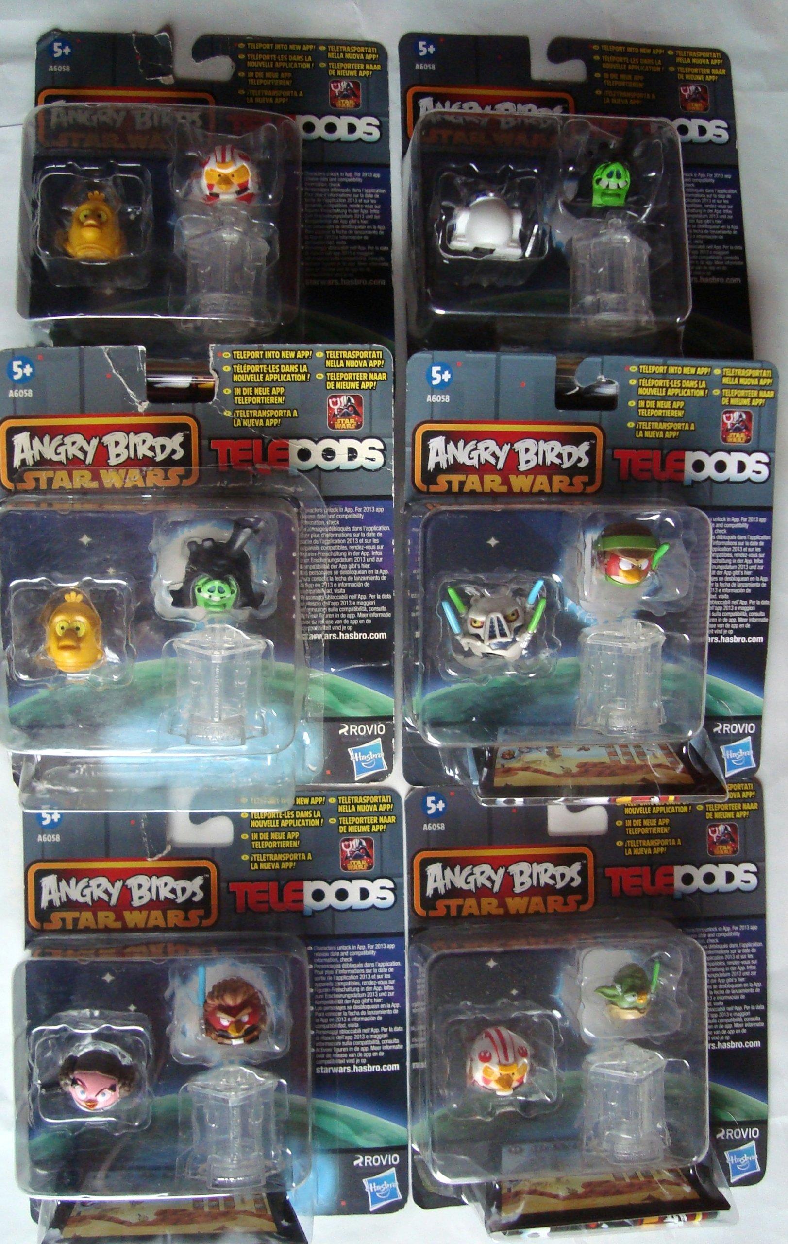 Angry Birds Star Wars Telepods 12 Figurek Nowe 7038999555 Oficjalne Archiwum Allegro