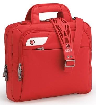 Damska Torba na laptopa 13,3' czerwona I-STAY