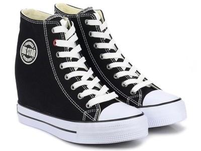 Trampki Na Koturnie Sneakersy Big Star U274900 41 6840598461 Oficjalne Archiwum Allegro