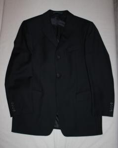 Czarny garnitur Pierre Cardin, roz. 48, jak nowy.