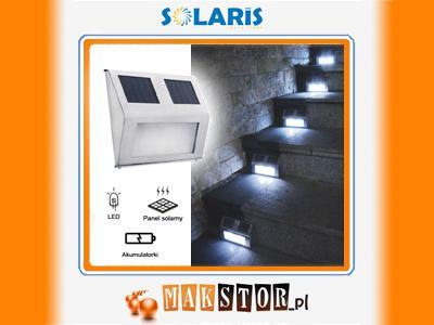 lampy solarne na schody allegro