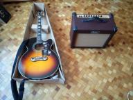 Gitara  Epiphone EJ 200 SCE +piec Kustom Sienna 35