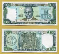 -- LIBERIA 100 DOLLARS 2011 EC P30g UNC