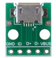 NOWE GNIAZDO MICRO USB PŁYTKA USB NA PCB 5 PIN