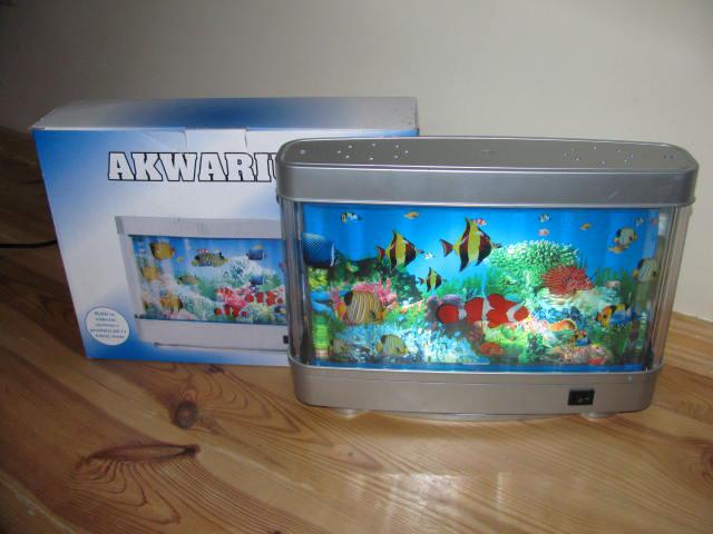 Lampka Nocna Akwarium Rybki 3d 7016256209 Oficjalne Archiwum Allegro