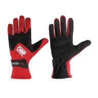 Rękawice OMP KS-4 czerwone r.5