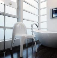 Krzesło do jadalni białe nowoczesne