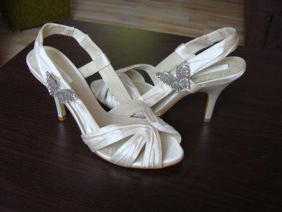 Sandały ślubne firmy NEXT