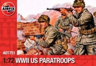 AIRFIX 01751 WWII US Paratroops 1:72