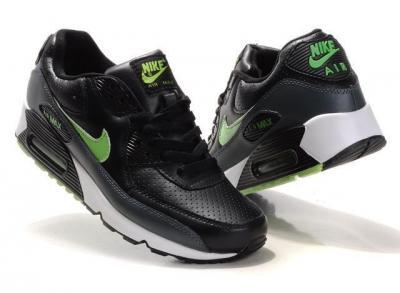 nike air max damskie czarno zielone