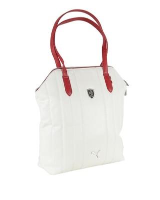torebka puma ferrari biała